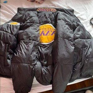 Lakers puffer Jacket